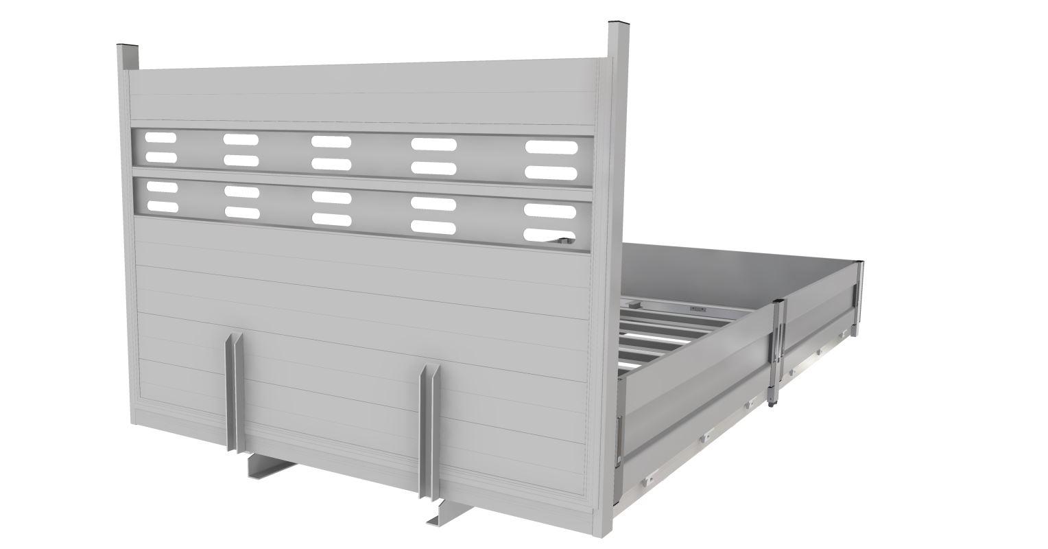 Platforma cu obloane: 4900 x 2200 x 400 mm