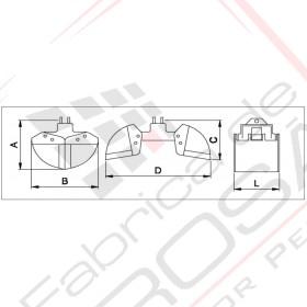 Cupa cu deschidere orizontala pentru incarcare/descarcare diverse materiale