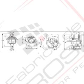 Rotoare hidraulice cu palete - rotatie continua