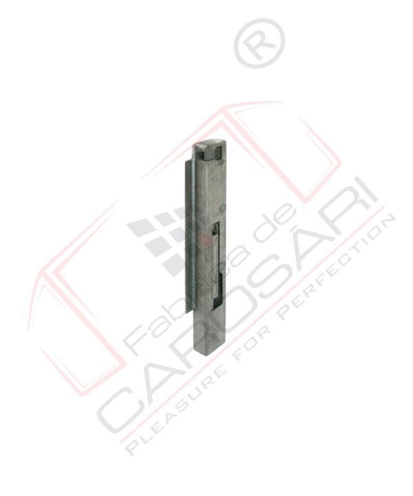 Tipper pillar 60mm, front, right NEW