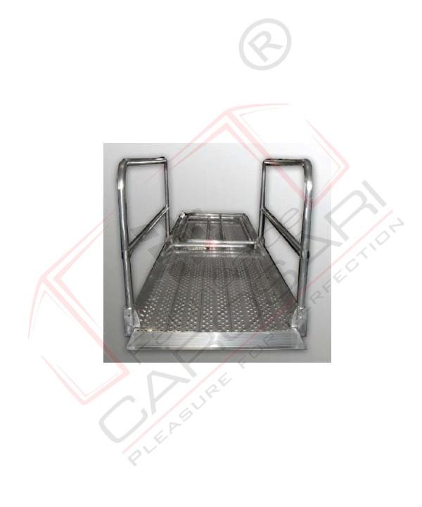 Rampe trecere model PP35X100 capacitate de incarcare/kg / ampatament: 600/ 3500 Latime interna 930mm