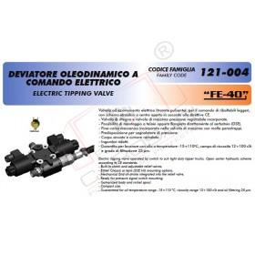 Distribuitor de basculare cu actionare electrica FE40