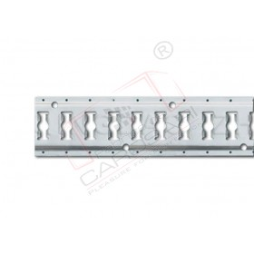 Lath aluminium o25mm 3000mm