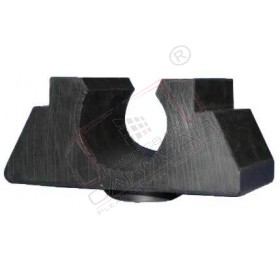Tarpaulin bar socket 50mm, rubber