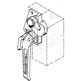 Dropside lock H 115 A, L