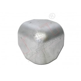 Aluminium box corner cap