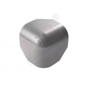 Box corner cap RAL 9007