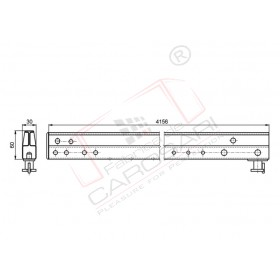 Leading track ultraline - front 4156mm