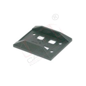 Detent for door - washer, plastic