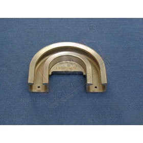 Hook locking profile, R 100 mm