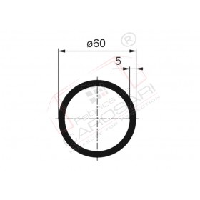 Tube 60x5x7000 mm