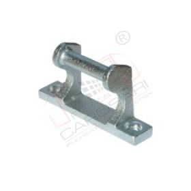 Tipper hinge o21/120 mm zinc