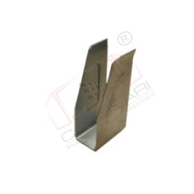 Tarpaulin profile end socket - steel