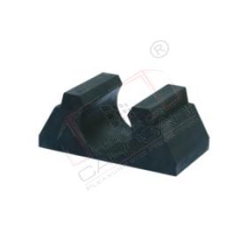 Tarpaulin bar socket 35mm, rubber