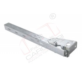 Side hindrance socket, 570mm, hot zinc