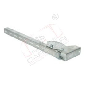 Side hindrance socket, 630mm, hot zinc