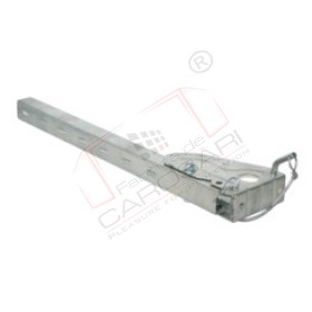 Side hindrance socket, 730mm, hot zinc