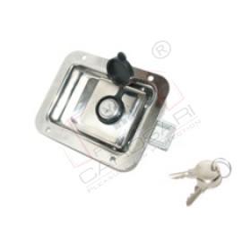 Recessed lock119x92mm, inox