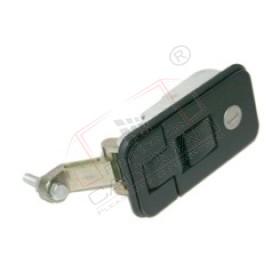 Tool box, door handle lock