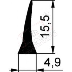 Black seal, rolls 40m