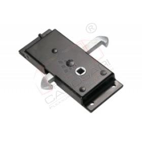 locking gear sliding door,reversible