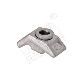Frame clamp 3-18mm o10/50x25mm Zn