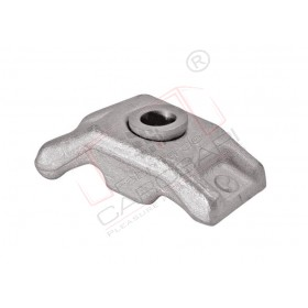 Frame clamp 4-20mm o12/73x35mm Zn