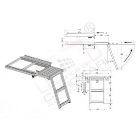 Folding step - 2 steps