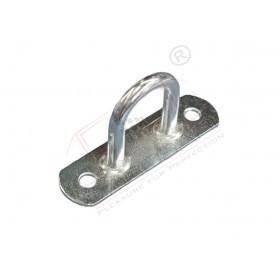 Tarpaulin shackle, fixed, 21x71mm