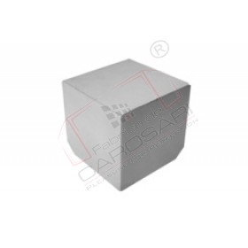 corner cap 115x115x115mm inox