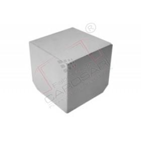 corner cap 145x145x145mm inox