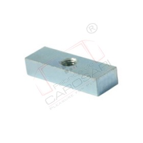 Threaded plate, 16x10-50 mm, Zn