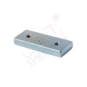 Threaded plate, 30x10-75 mm, Zn