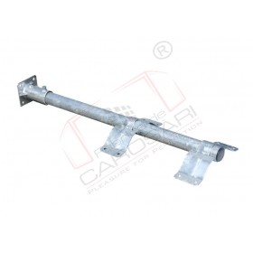 Mudguard holder, 42x760mm, zinc
