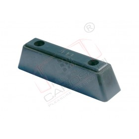 Buffer, rubber 215x55x50 mm