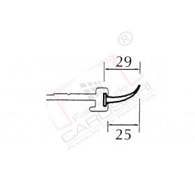Seal for pillar profile C-T