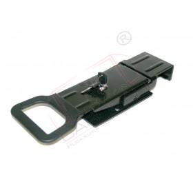 Lock with locking gear for pillar C-T