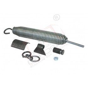 Auxiliary spring for tipper
