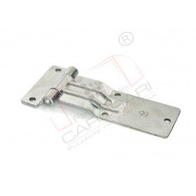 Side hinge 165mm stainless