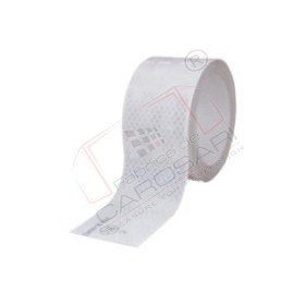 Reflective tape, white, for box