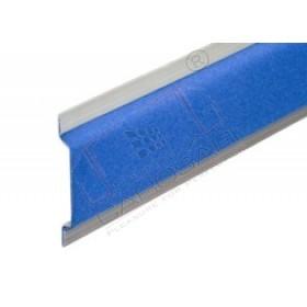 Padded aluminium rail L=4500mm