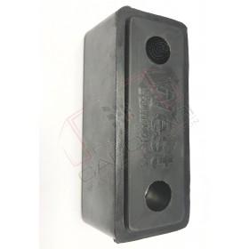 Tampon cauciuc usi spate remorca, semiremorca, buffer, amortizor rectangular 190x80x80 mm