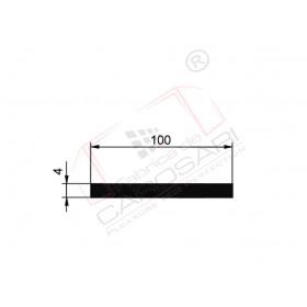Flat rod 100x4mm