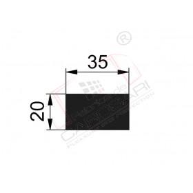 Flat rod 35x20 mm