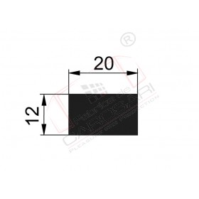 Flat rod 20x12mm