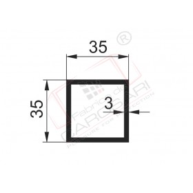 Square tube 35x3mm