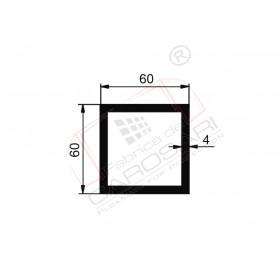 Square tube 60x60x4