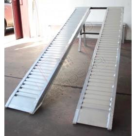 Aluminium ramps 3 to - 3 m