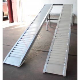 Aluminium ramps 4 to - 2,5 m