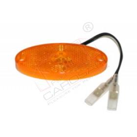 LED Side Marker Light orange 12V